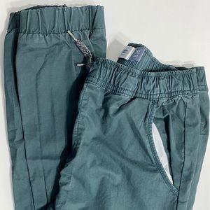 Old Navy Jogger Gray Green Boys XL 14 16 New